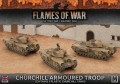 BBX44 Churchill Armoured Troop (Plastic)