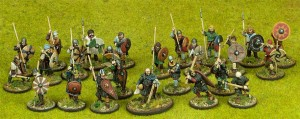 SAGA Starter 4 Point Warband - Anglo-Danish